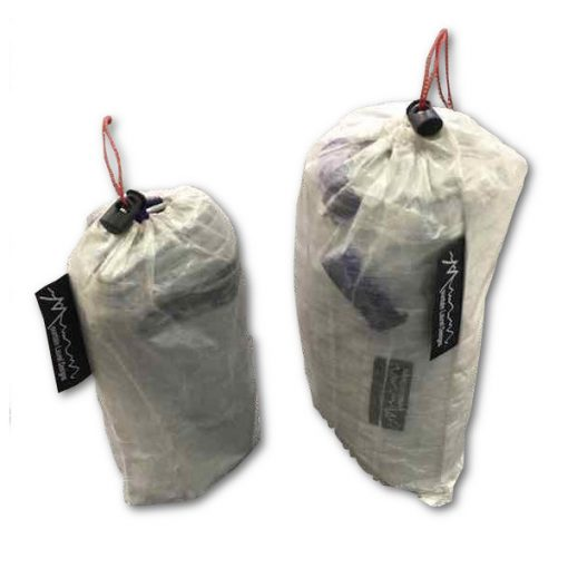 Cuben DCF Ground Cloth Packed in Stuff Sack