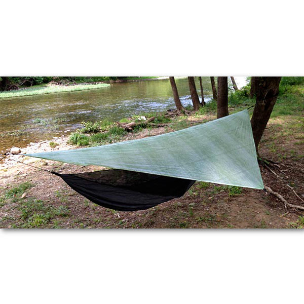 Hammock Cuben ASYM Tarp In Action