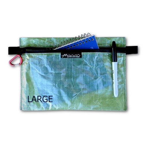 MLD Cuben Fiber Zipper Pouch Large