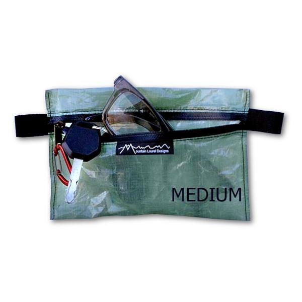 MLD Cuben Fiber Zipper Pouch Medium