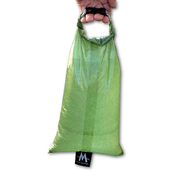 MLD Cuben Fiber Dry Bag Holding Water