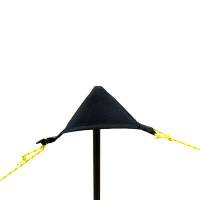 Tarp Pole Cup on a Carbon Fiber Tarp Pole