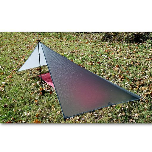 SilNylon Poncho Set Up As Tarp