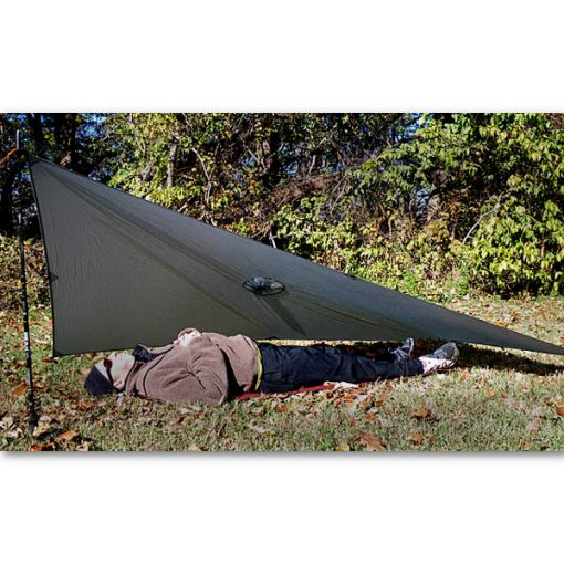SilNylon Poncho Tarp In Use