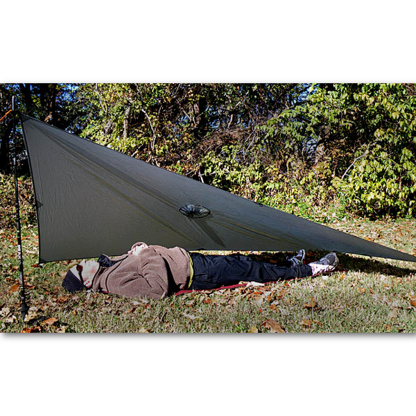 SilNylon Poncho Tarp In Use  sc 1 st  Mountain Laurel Designs : silnylon tarp tent - memphite.com