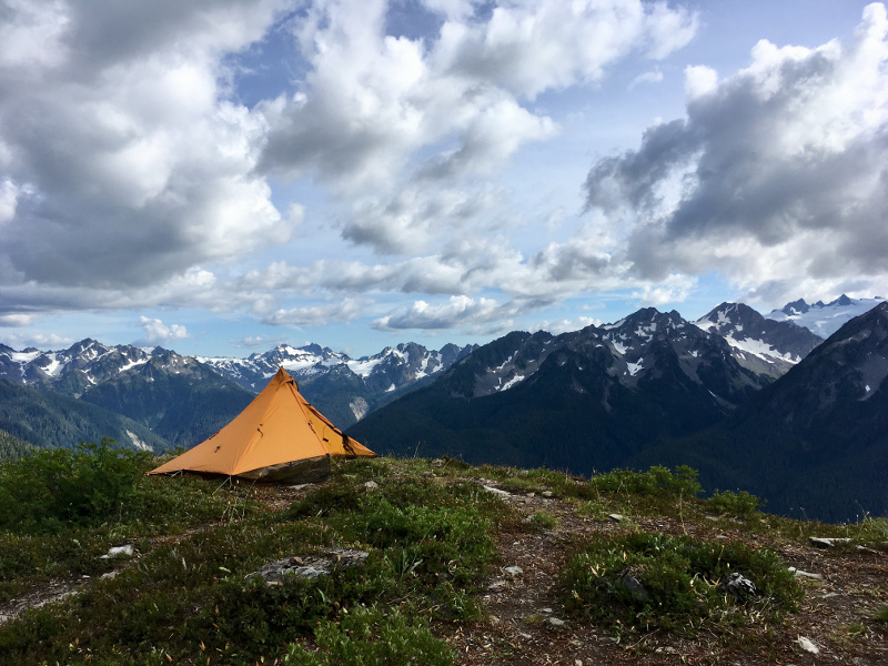 Pitching the Mountain Laurel Designs Pyramid Tent