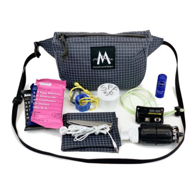 MLD Burrito Waist pack Fits All This!