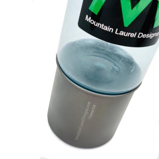 520ml Titanium Mug Width Comparison