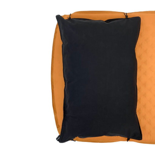 MLD DCF Pillow Sack: With Bungee Cords on a Sleeping Pad
