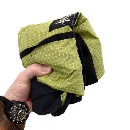 Hell Pack - Folded for Travel